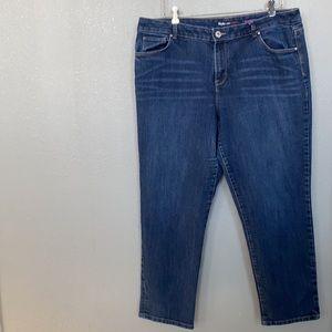 Style & Co Boyfriend Jeans Size 18
